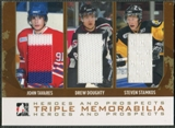 2007/08 ITG Heroes and Prospects #TM03 John Tavares Drew Doughty Steven Stamkos Gold Jersey /10