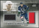2010/11 ITG Heroes and Prospects #HP02 Tyler Seguin & Mario Lemieux Hero and Prospect Jersey Silver /50