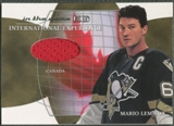 2003/04 ITG Used Signature Series #2 Mario Lemieux International Experience Gold Jersey /10