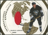 2002/03 ITG Used #IE1 Mario Lemieux International Experience Gold Jersey /10