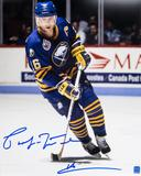 Pat LaFontaine Autographed Buffalo Sabres Throwback 11x14 Photo