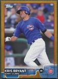 2015 Topps Pro Debut #1 Kris Bryant Rookie Gold #33/50