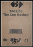 2005/06 Upper Deck The Cup (Exquisite) Hockey Hobby 6-Box (Tin) Case