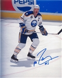 Mike Ramsey Autographed Buffalo Sabres 8x10 Captain Photo