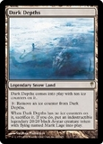 Magic the Gathering Coldsnap Single Dark Depths Foil - NEAR MINT (NM)