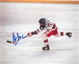 "Mike Eruzione Autographed 1980 USA Olympic Hockey ""Miracle On Ice"" 8x10 Photo (DACW)"