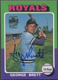 2001 Topps Archives #TAA144 George Brett A1 Auto SP /50