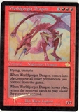 Magic the Gathering Judgment Single Worldgorger Dragon Foil