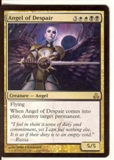 Magic the Gathering Guildpact Single Angel of Despair LIGHT PLAY (NM)