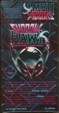 Shadow Hawk Trading Card Box (1992 Comic Images)