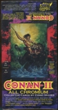 Conan Series II Hobby Box (1994 Comic Images)