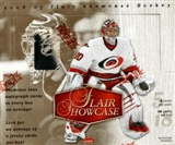 2006/07 Fleer Flair Showcase Hockey Hobby Box (UD)
