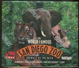 The World Famous San Diego Zoo Animals Of The Wild Trading Card Box (1993 Cardz)