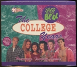 Saved By The Bell The College Years Trading Card Box (1994 Pacific)