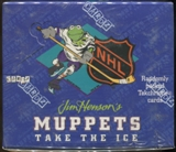 Jim Henson's Muppets Take The Ice Trading Card Box (1994 Cardz)