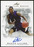 2012/13 Leaf Signature #DL1 Damian Lillard RC
