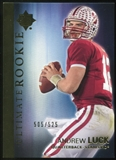 2012 Upper Deck Ultimate Collection #61 Andrew Luck RC 505/525