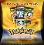 Pokemon 2005 EX Series Value Pack - 3 packs + 1 Variant card