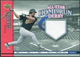 2002 Upper Deck All-Star Home Run Derby Game Jersey #ASJG2 Jason Giambi A's