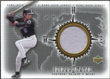 2002 Upper Deck Global Swatch Game Jersey #GSTS Tsuyoshi Shinjo