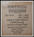 WOTC Star Wars Miniatures Bounty Hunters 6-Box Booster Case