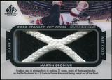 2012/13 Upper Deck SP Game Used Stanley Cup Finals Materials Net Cord #G4MB Martin Brodeur 21/25