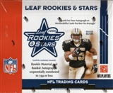 2006 Leaf Rookies & Stars Football Hobby Box
