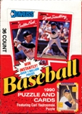 1990 Donruss Baseball Wax Box (10 Box Lot)