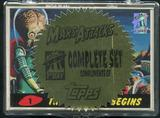 Mars Attacks First 1st Day Complete 55 Card Set (1994 Topps)