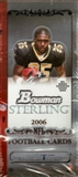 2006 Bowman Sterling Football Hobby Box