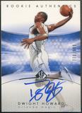 2004/05 SP Authentic #186 Dwight Howard Rookie Auto #770/999