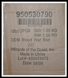 WOTC Dungeons & Dragons Miniatures Blood War Booster Case (12 ct.)