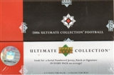 2006 Upper Deck Ultimate Collection Football Hobby Box