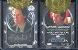 Marvel Agents of S.H.I.E.L.D. Season Two Trading Cards 6 Case Incentive - Kyle MacLachlan Autograph