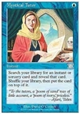 Magic the Gathering 6th Edition Single Mystical Tutor LIGHT PLAY (NM)