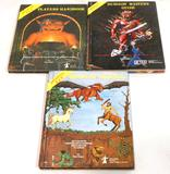 Advanced Dungeons & Dragons Rulebook Set - Players Handbook, Dungeon Masters Guide, Monster Manual