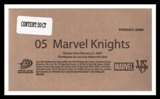Vs System Marvel Knights 20 Pack Booster Box