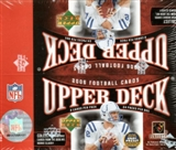 2006 Upper Deck Football 24 Pack Box