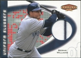 2002 Upper Deck Ballpark Idols Uniform Sluggers Jerseys #BW Bernie Williams