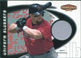 2002 Upper Deck Ballpark Idols Uniform Sluggers Jerseys #JB Jeff Bagwell