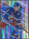 1996/97 Select Certified #76 Brian Leetch Mirror Blue With Coating