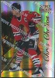 1996/97 Select Certified #27 Chris Chelios Mirror Gold