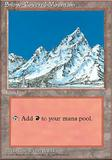 Magic the Gathering Ice Age Single Snow-Covered Mountain UNPLAYED (NM/MT)