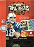 2006 Topps Triple Threads Football Hobby Box