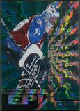 1997/98 Pinnacle #7 Patrick Roy Epix Season Emerald /50