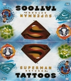 Superman Returns Tattoos 24 Pack Box (2006 Topps)
