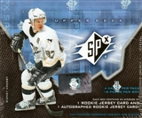 2006/07 Upper Deck SPx Hockey Hobby Box
