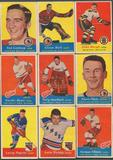 1957/58 Topps Hockey Complete Set (VG-EX)
