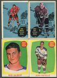 1961/62 Topps Hockey Complete Set (VG-EX)