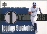 2003 Upper Deck Leading Swatches Jersey #AS Alfonso Soriano SB